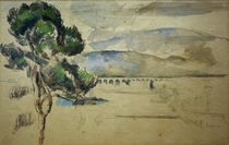 Cézanne / Arc Valley with Viaduct / 1885 by AKG  Images