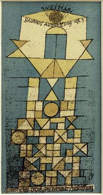 P.Klee, Weimar, Bauhaus Ausst. 1923 / Farblithographie von AKG  Images