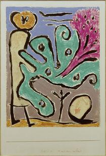 P.Klee, Mädchen am Busch / 1938 von AKG  Images