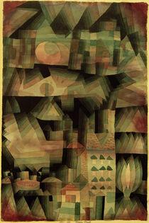 P.Klee, Traum-Stadt, 1921 von AKG  Images