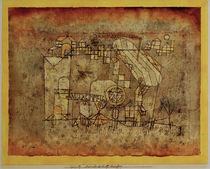 P.Klee, Ankunft des Luft-dampfers von AKG  Images