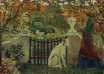 Vogeler / Garden in autumn /  c. 1903 by AKG  Images