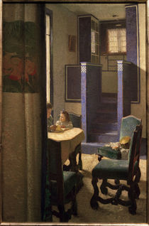 C.Moll, Salon im Haus auf der Hohen W. von AKG  Images