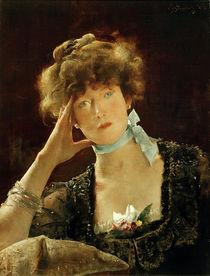Sarah Bernhardt / Gemälde von Alfred Stevens by AKG  Images