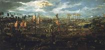 Seeschlacht bei Lepanto 1571 / venez. Gem. von AKG  Images