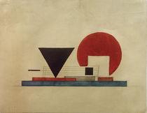 I. G. Tschaschnik, Projekt eines Bücherkiosks by AKG  Images