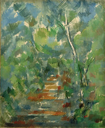 P.Cézanne / Undergrowth in Provence by AKG  Images