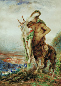 Gustave Moreau, The tired centaur by AKG  Images