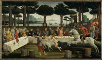 Botticelli / Story of Nastagio III /1483 by AKG  Images