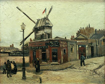 van Gogh / Le Moulin de la Galette /1886 by AKG  Images