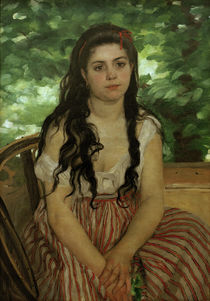 Renoir / In the summer / Study / 1868 by AKG  Images