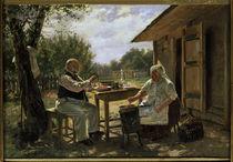 W.J.Makowski, Beim Marmeladekochen von AKG  Images