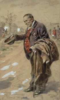 V.Y.Makovski / Gallant Old Gentleman/1919 by AKG  Images