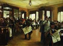 V.E.Makovsky, In the Café Dominique by AKG  Images