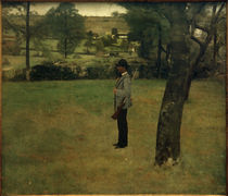 F.Khnopff, In Fosset. Der Jagdaufseher by AKG  Images