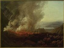 Der Ausbruch des Vesuv, Dezember 1820 / Gemälde v. J.Ch. Dahl by AKG  Images