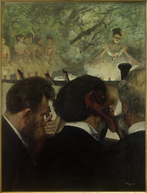 Edgar Degas, Orchestermusiker by AKG  Images