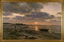 E.Dücker, Sonnenuntergang an der Ostsee von AKG  Images