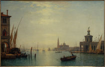 Venedig, Canal Grande, Blick auf S.Giorgio... / C.Morgenstern by AKG  Images