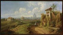 Rome / Painting / Rudolf von Alt by AKG  Images
