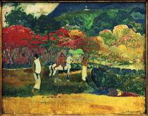 P. Gauguin, Frauen mit weißem Pferd by AKG  Images