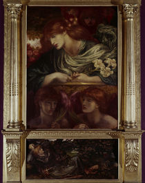 Rossetti / The Blessed Damozel, Painting by AKG  Images