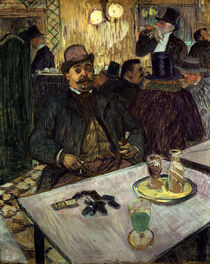 H.Toulouse-Lautrec, Boileau at the café by AKG  Images