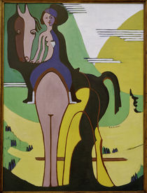 E.L.Kirchner / Horsewoman by AKG  Images