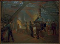 P.S.Kröyer, In der Eisengießerei von AKG  Images