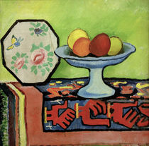 August Macke / Still life with Bowl of Apples by AKG  Images