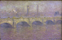 C.Monet / Waterloo Bridge by AKG  Images