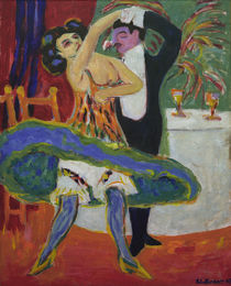E.L.Kirchner, Varieté (English dancers) by AKG  Images