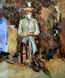 Cézanne / The Gardener Vallier by AKG  Images