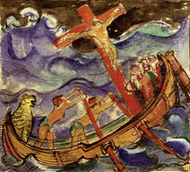 Christ on the Cross in a Stormy Sea / Franz Marc / 1915 by AKG  Images