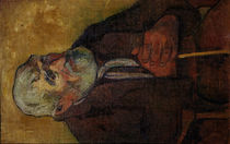 P.Gauguin / Old man with walking stick by AKG  Images