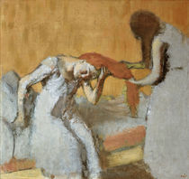 Degas / Combing the hair /  c. 1896/1900 by AKG  Images