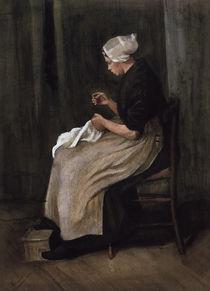 v. Gogh, Scheveninger Näherin von AKG  Images