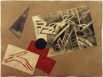"""O. Rosanowa, Collage für Alexei Krutschonychs Mappe """"Der Krieg"""" von AKG  Images"""