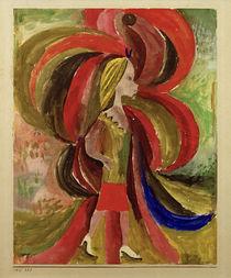 """P.Klee, """"Was ein Mädchen unwissend mit sich bringt"""" / Aquarell, 1915 von AKG  Images"""