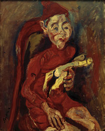Ch. Soutine, The Child's Toy / painting, c. 1919 by AKG  Images