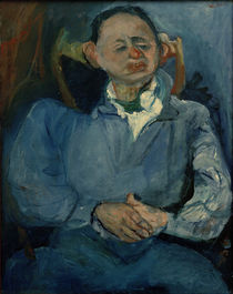 Ch. Soutine, The sculptor Oscar Miestschaninoff / painting by AKG  Images