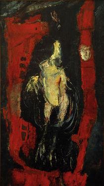 Ch. Soutine, Geflügel, vor roter Mauer hängend von AKG  Images