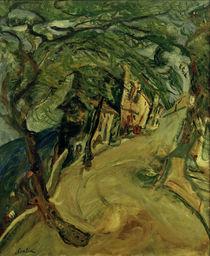 Ch. Soutine, Die Strasse zum Hügel von AKG  Images