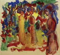 A.Macke, Frauen beim Spaziergang, 1913 von AKG  Images