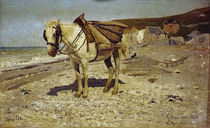 I. Repin, Horse for Carrying Stones by AKG  Images