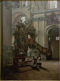 Ph.Franck, Kircheninterieur by AKG  Images