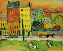 W.Kandinsky, Häuser in München von AKG  Images