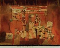 Paul Klee, Plan einer Maschinenanlage von AKG  Images