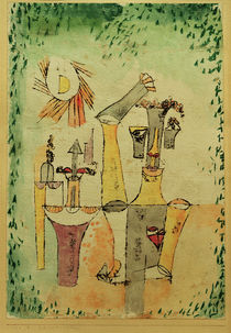 Paul Klee, Schwarzmagier (Black Magician) by AKG  Images