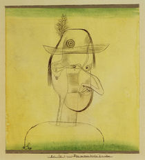 Paul Klee, Comic Figure, Bavarian Play by AKG  Images